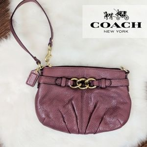 Coach • Wrist Leather Mini Purse